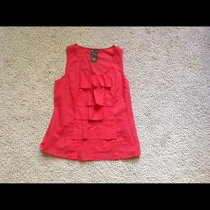 Anthropologie Fei Ruffle Top